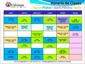 Horario OMalaga Yoga