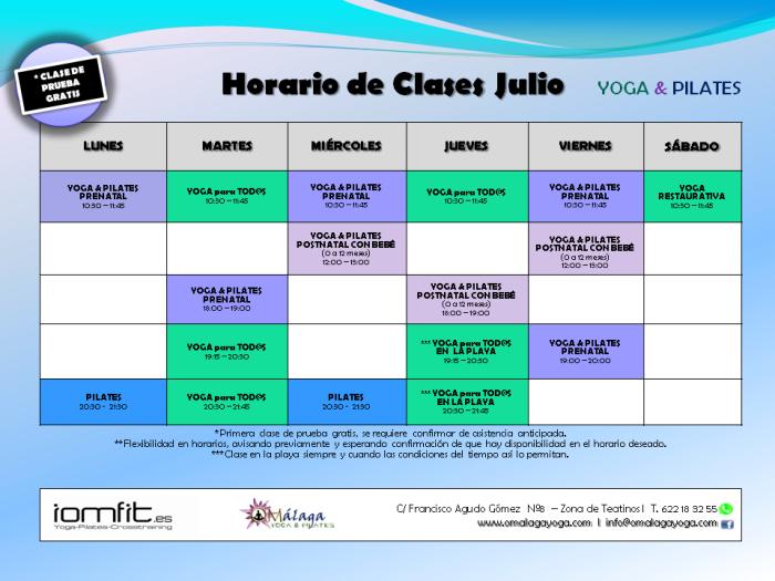 Horario OMalaga Yoga_julio_sin zumba