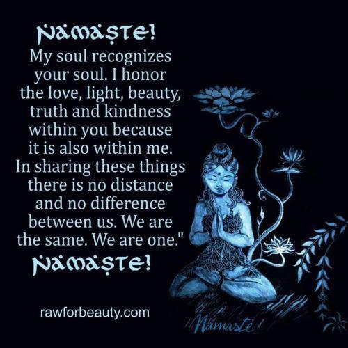 ¿Qué es Namasté?