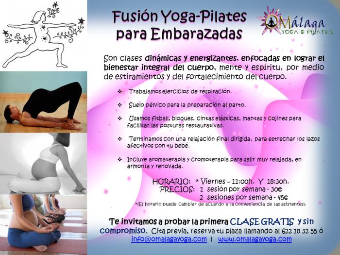 Fusion Yoga-Pilates Embarazadas