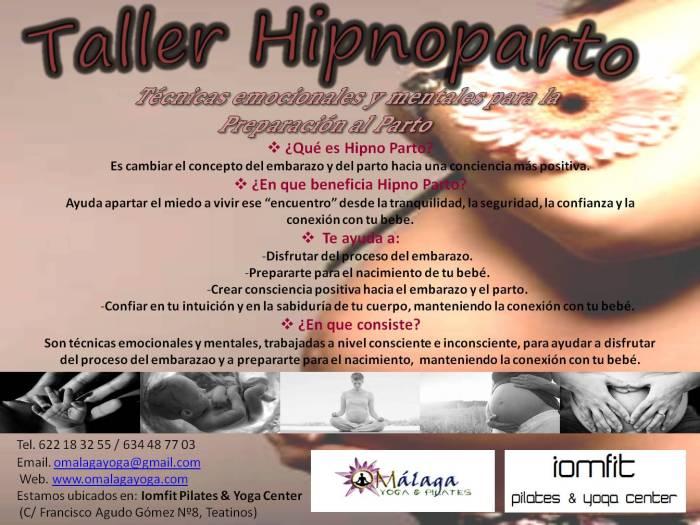 Taller Preparación al Parto-Hipnoparto